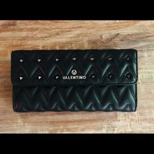 Valentino Julius Studded Flap Wallet